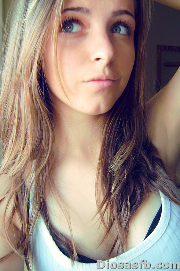 Muy linda mujer Facebook de Bellas Mujeres.