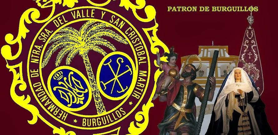 Hermandad de Nuestra Señora del Valle y San Cristóbal Mártir, Patrón de Burguillos (Sevilla)