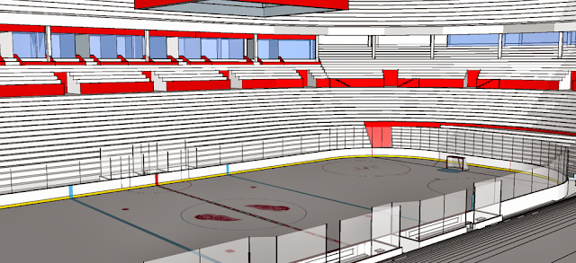 New Olympia Stadium A New Arena For The Detroit Red Wings