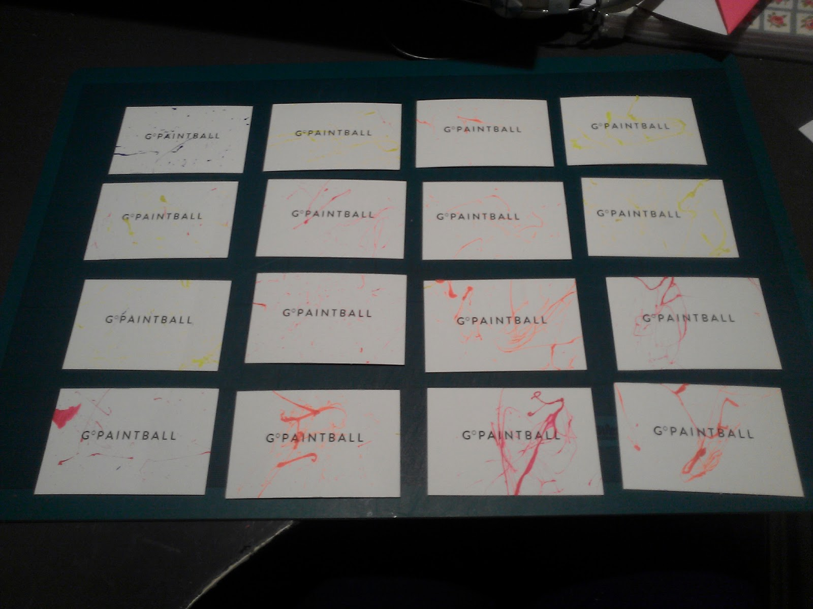 Final Major Project: Brief 5:: Business Cards