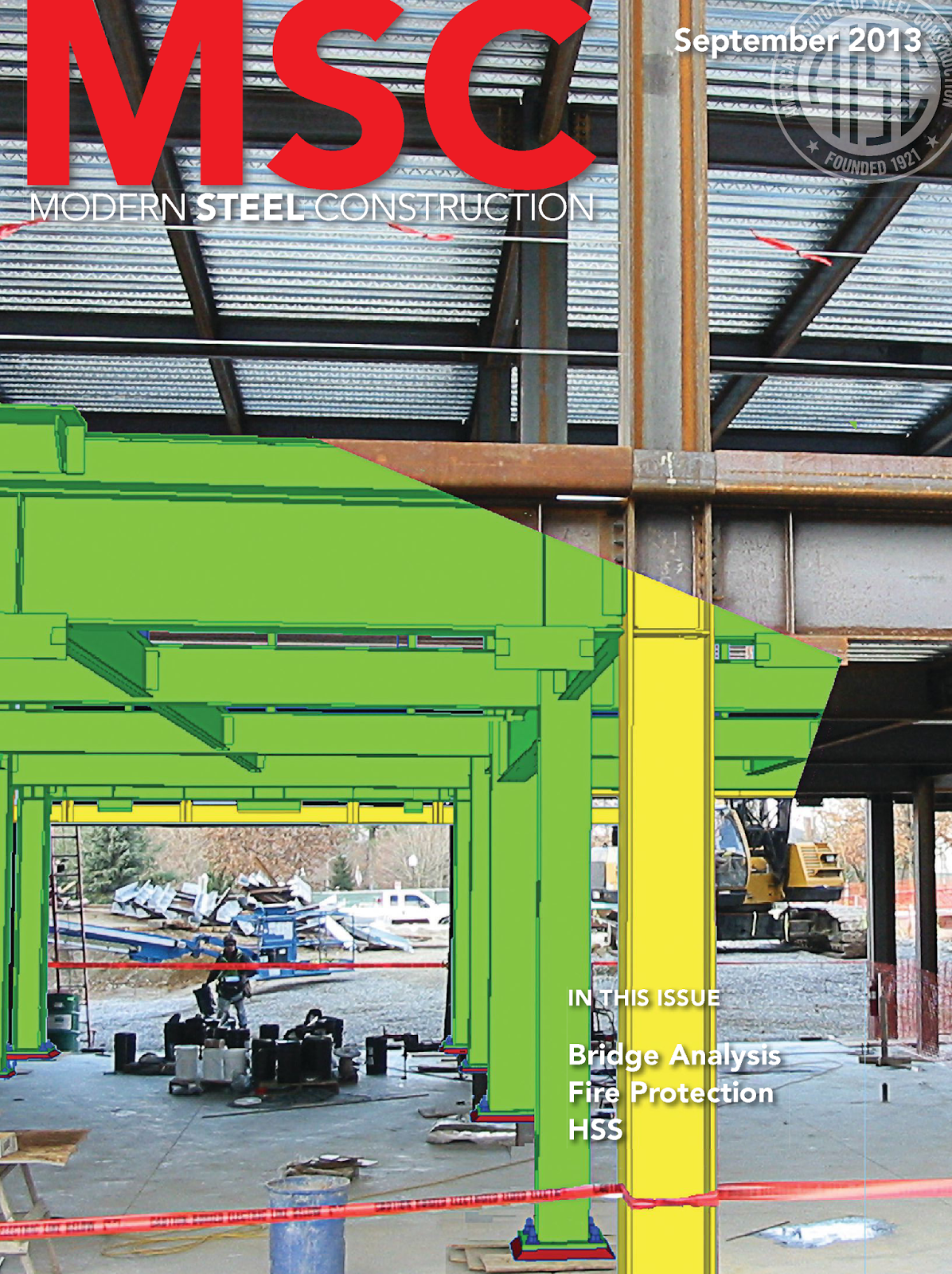Modern Steel Construction Magazine (September 2013 Issue)