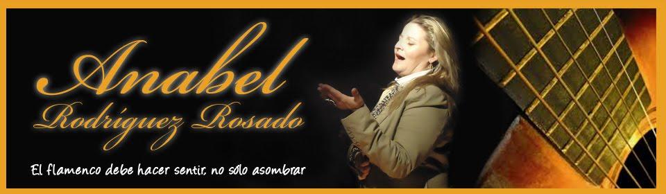 Anabel Rodríguez Rosado - Cantaora