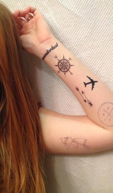 Tatuajes De Viajes Por Que Viajar Y 70 Ideas Originales Belagoria