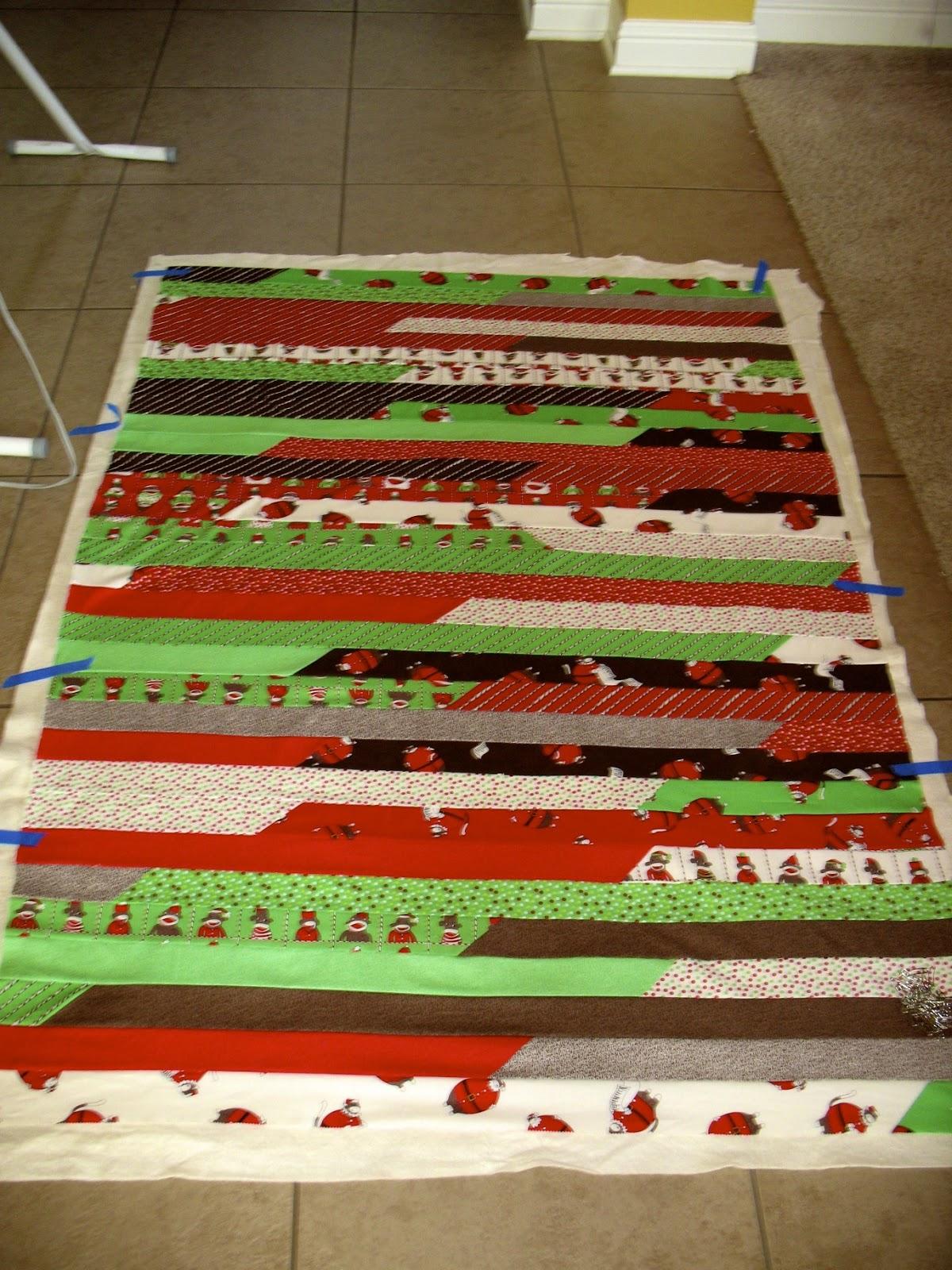 Lasagna Quilt Pattern Jelly Roll : The Tilted Quilt: Lasagna Quilt Tutorial