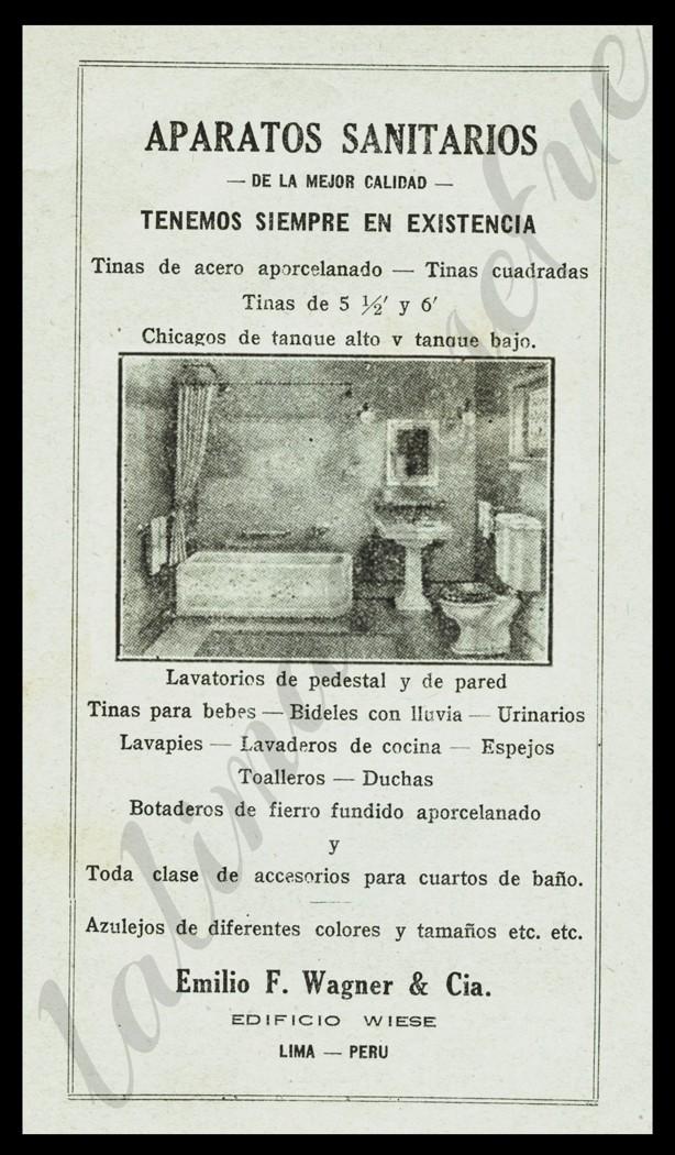 La lima que se fue publicidad aparatos sanitarios for Aparatos sanitarios