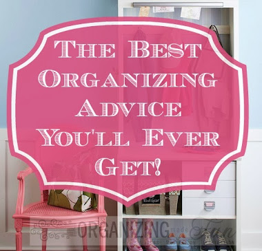 This is the BEST organizing advice