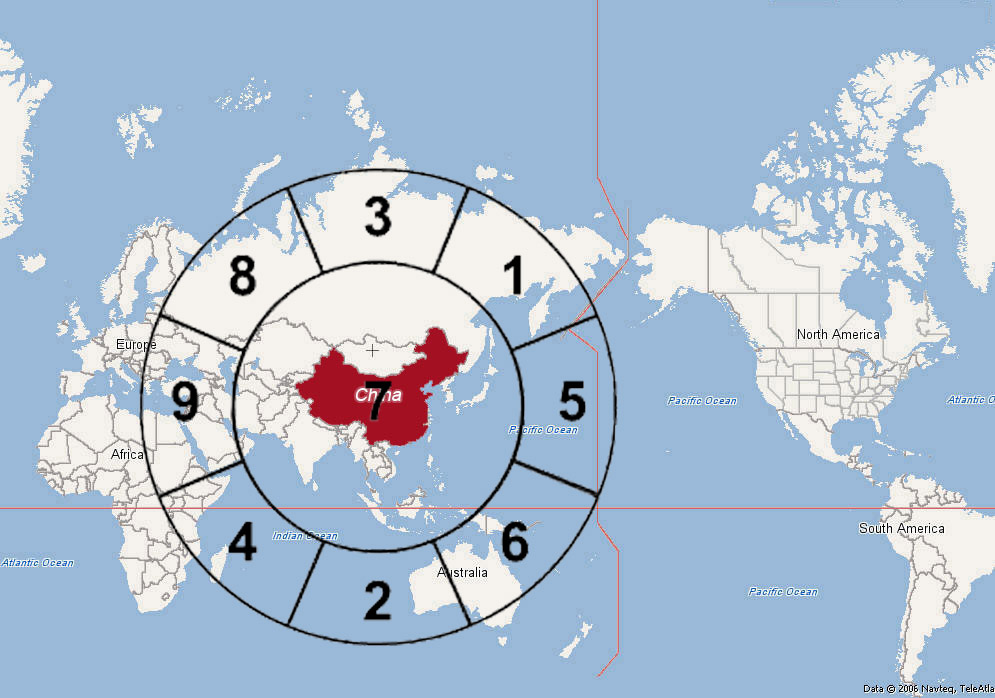 Yi fengshui what is your world view china is called the middle kingdom zhongguo for a reason as it may represents a middle kingdom for the descendant of the dragon as opposed to the gumiabroncs Images