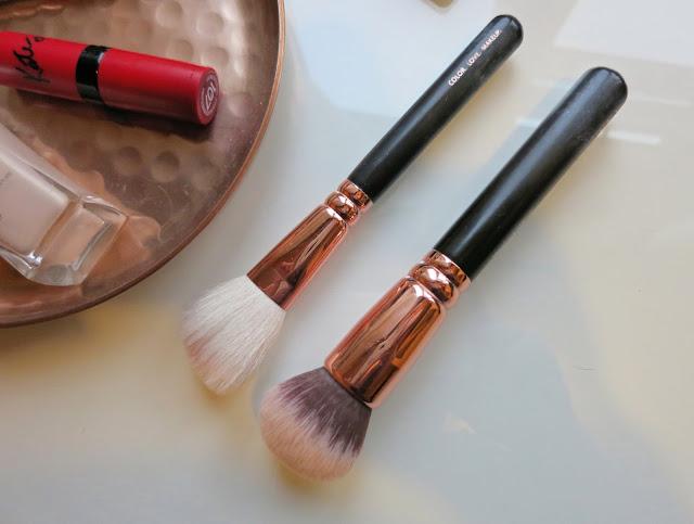 2015 Beauty Favourites Zoeva Rose Golden Luxury Brush Set
