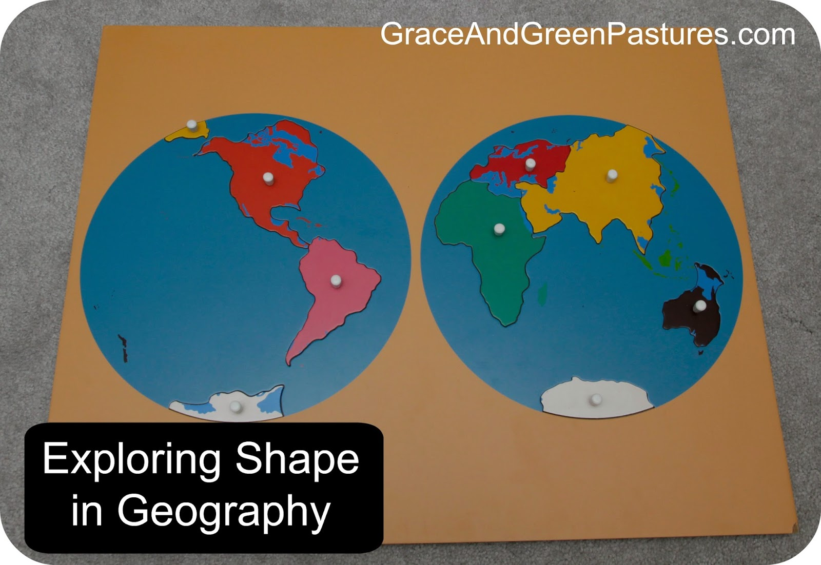 Shapes of Geography
