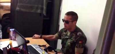 Militar Português tenta imitar Jimmy Kimmel