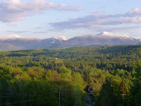 Clearing skies reveal snow-capped High Peaks following Memorial Day 2013 Nor'Easter: Marcy, Colden, Wright, Algonquin, Iroquois.  The Saratoga Skier and Hiker, first-hand accounts of adventures in the Adirondacks and beyond, and Gore Mountain ski blog.