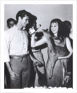 Anthony Perkins y Audrey Hepburn