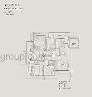 Onze @ Tanjong Pagar Floor Plans 3+1