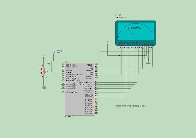 Projeto 14: Voltimetro Analogico e Digital