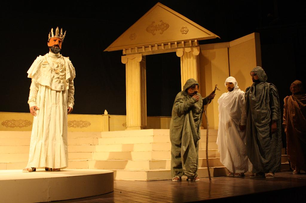 the fall of oedipus rex Oedipus rex, apart from the undeniable literary and historic value, also presents significant medical interest because the play mentions a plague, an epidemic, which was devastating thebes, the town of oedipus' hegemony.