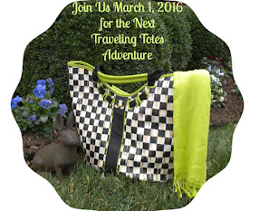 The Traveling Tote #6 -March 1