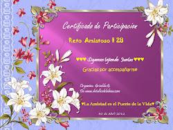 Certificado de cumplimiento 28