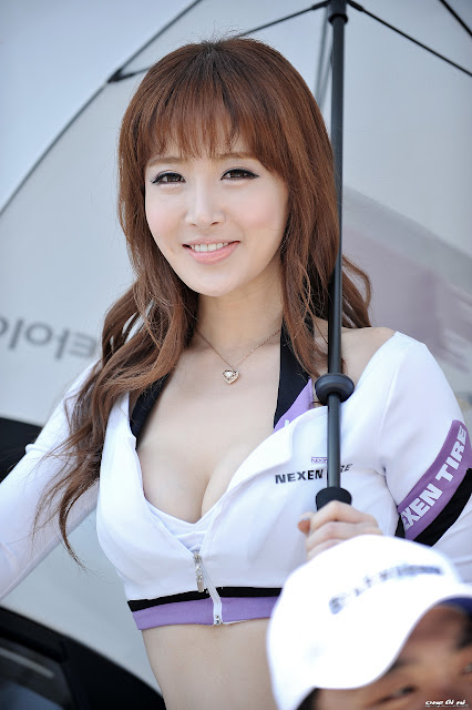 4 Lee Ye Bin - CJ SuperRace R1 2013 -Very cute asian girl - girlcute4u.blogspot.com