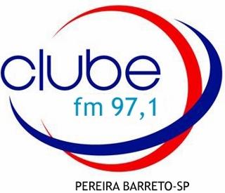 Rádio Clube FM de Pereira Barreto Sp ao vivo