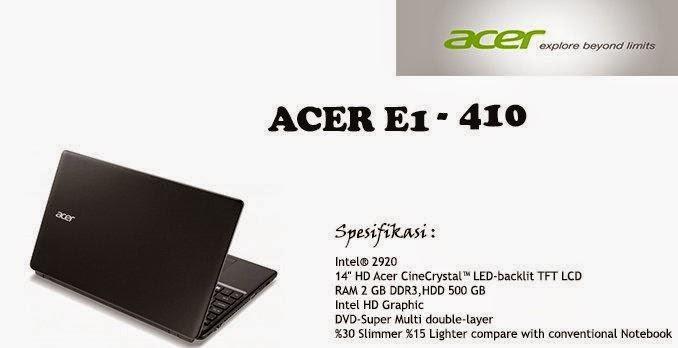 Laptop Acer Tahun 2015 Terbaru