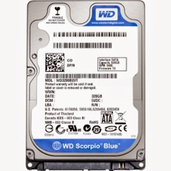 hdd-laptop-320Gb-sata-western-5400rpm-moi