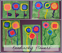 Kandinsky inspired flowers