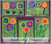 Kandinsky inspired flowers