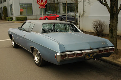 Chevrolet Cars Chevy Impala on Old Parked Cars   1969 Chevrolet Impala Custom Hardtop