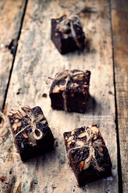 Brownies Pisang Panggang