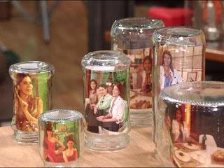 frascos con fotos