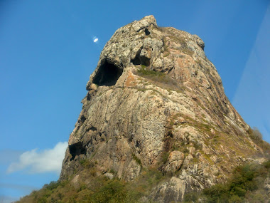 PEDRA AGUDA DE PERTO
