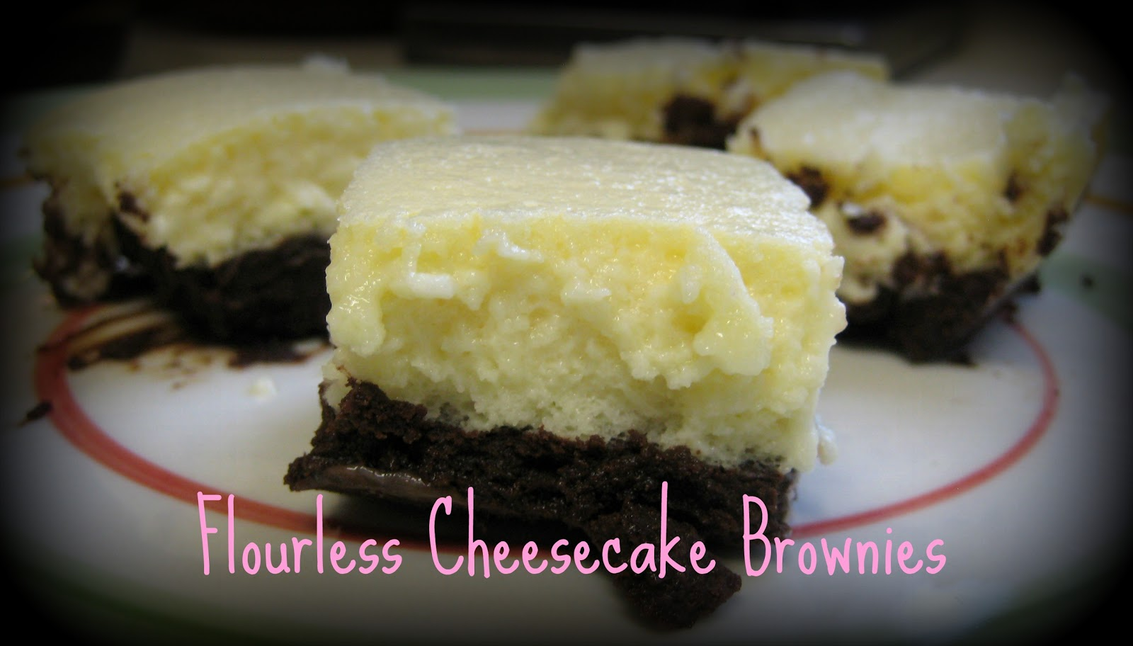 lot of recipes for cheesecake brownies have a cheesecake swirl. I ...