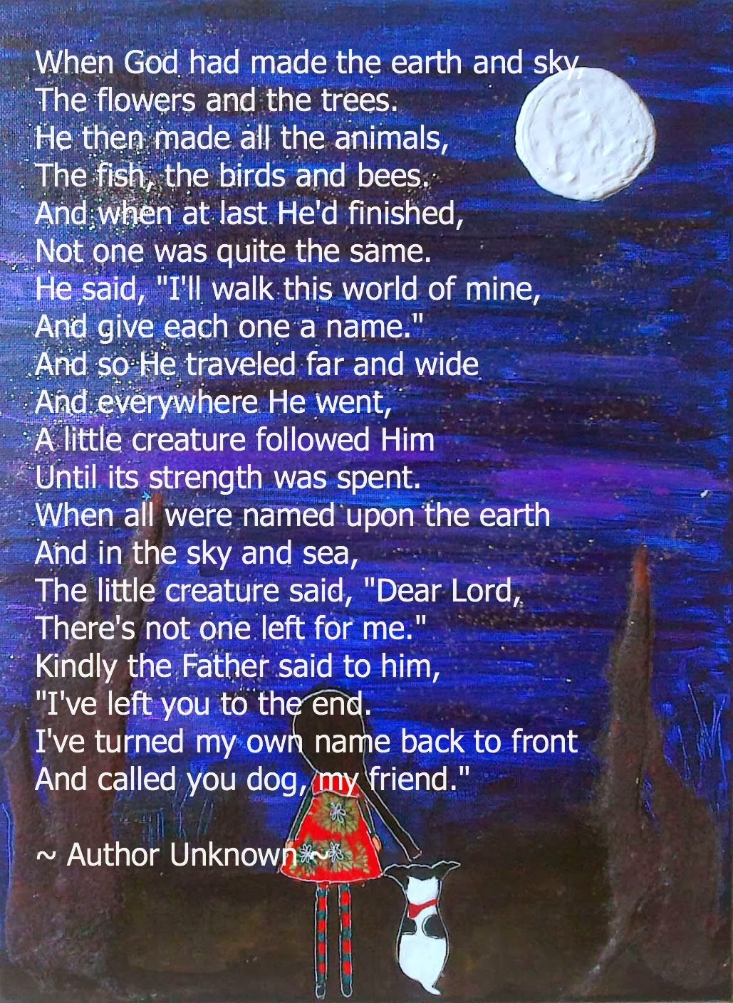 heart wrenching poem from an old dog to his owner what your dog