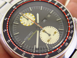SEIKO CHRONOGRAPH UFO SPEEDTIMER - AUTOMATIC 6138