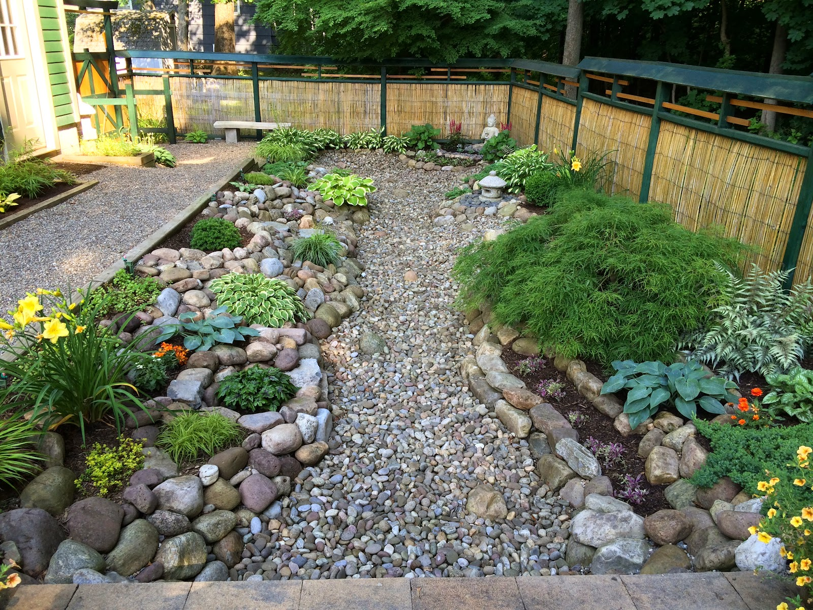 My zen garden weeds and mulch for Bassin exterieur pas cher