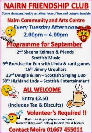 Friendship Club September