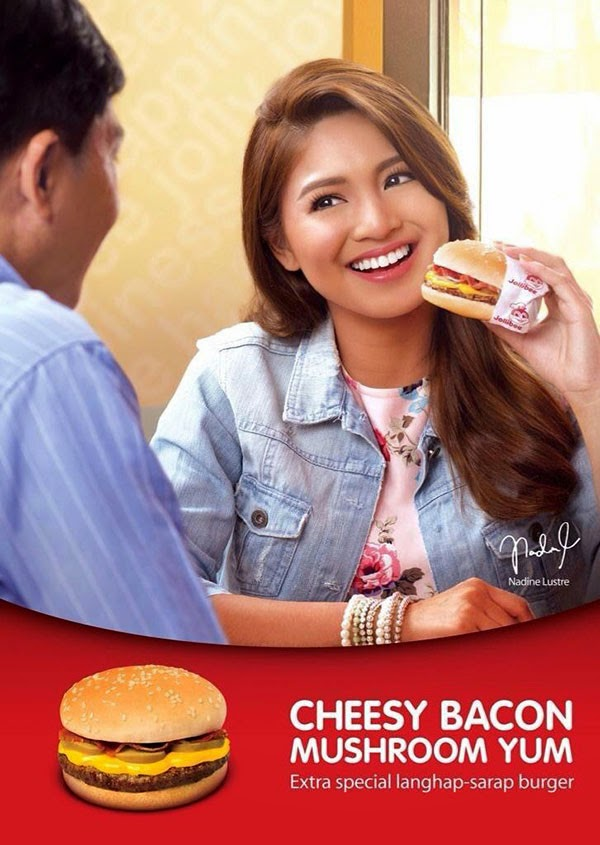 Nadine Lustre in new Jollibee TV commercial