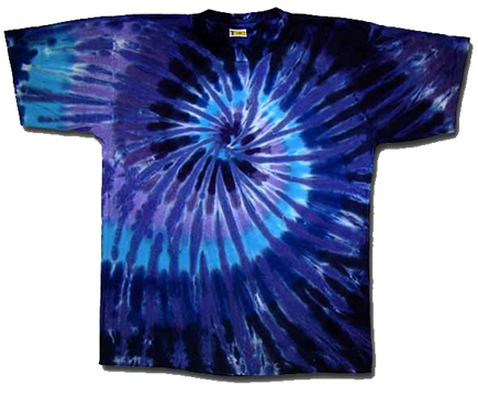 Happy birthday hailey tie dye designs for Tie dye t shirt patterns