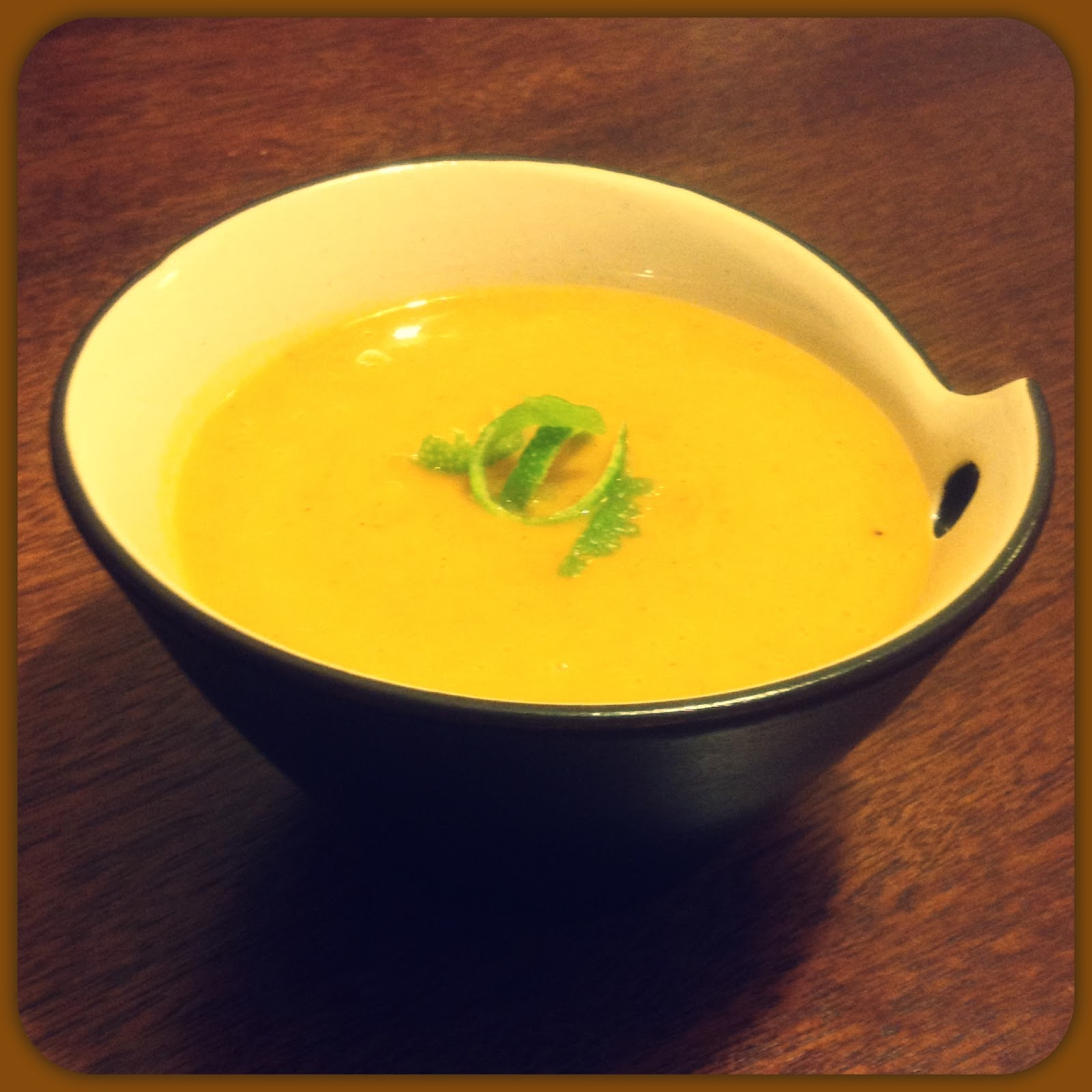 ... in a Paleo World: Roasted Butternut Squash and Sweet Potato Soup