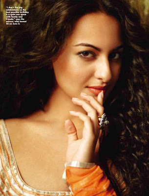 sonakshi sinha on cover ok magazine hot images