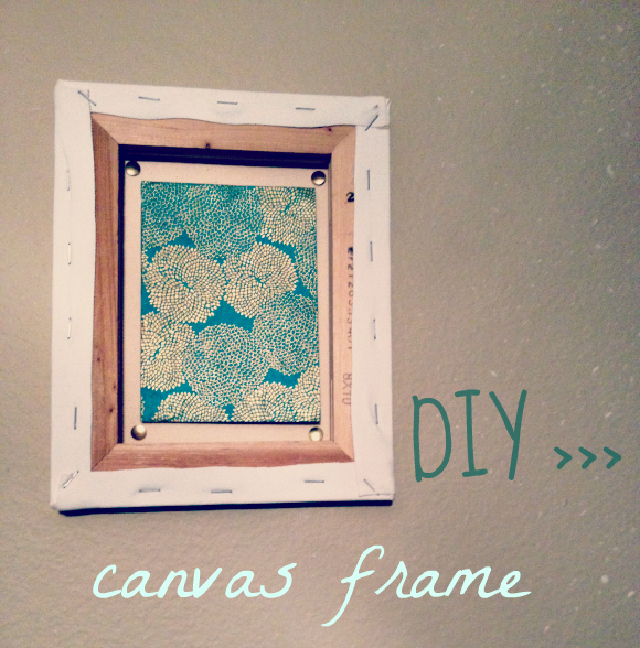 Moondaughter luna and soul creations diy canvas frame for How to make canvas painting