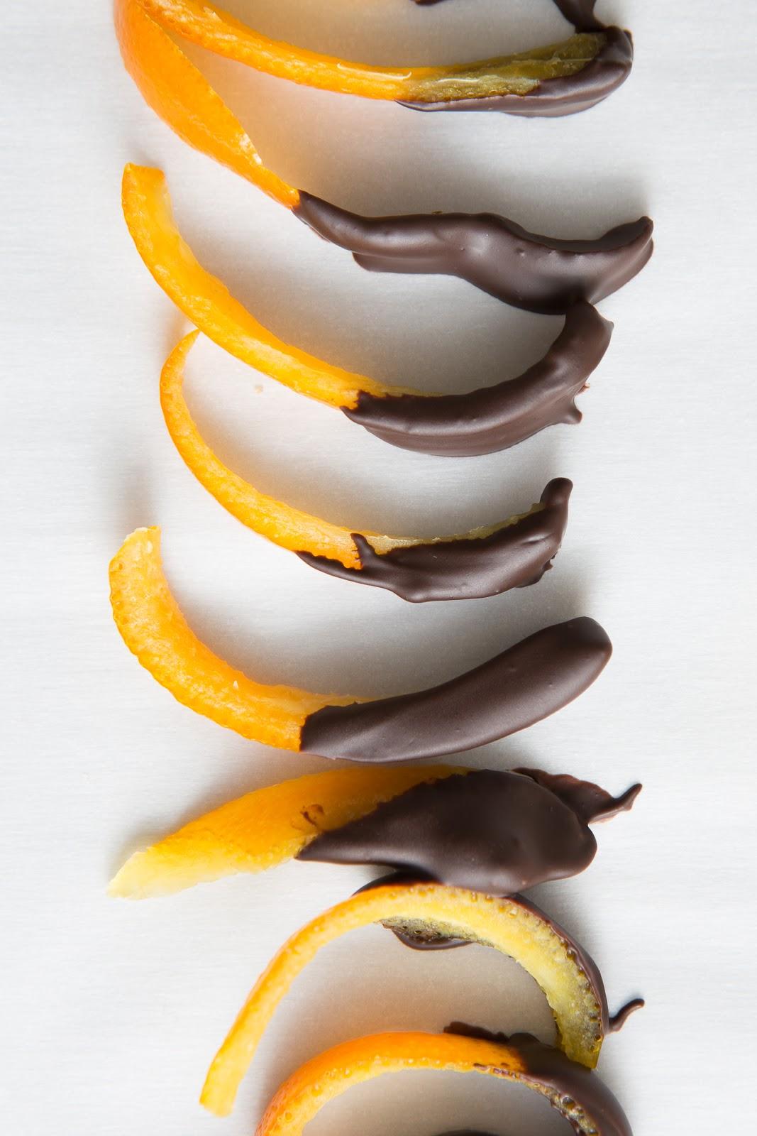 Candied Citrus Peels / seeandsavour.com