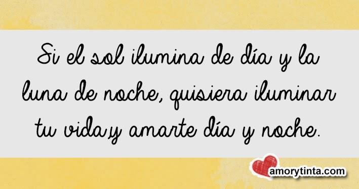 frase de amor romantica con fondo amarillo