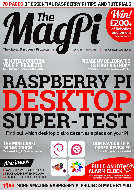 MagPi 33ª edição