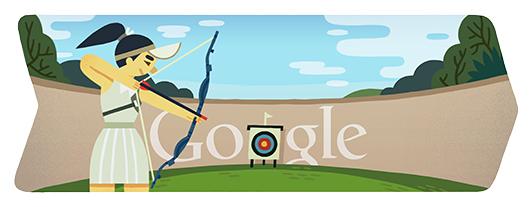 Logo Google London 2012 Archery