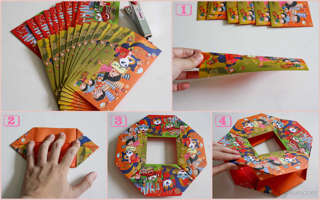 A happy mum singapore parenting blog for Ang pow decoration craft work