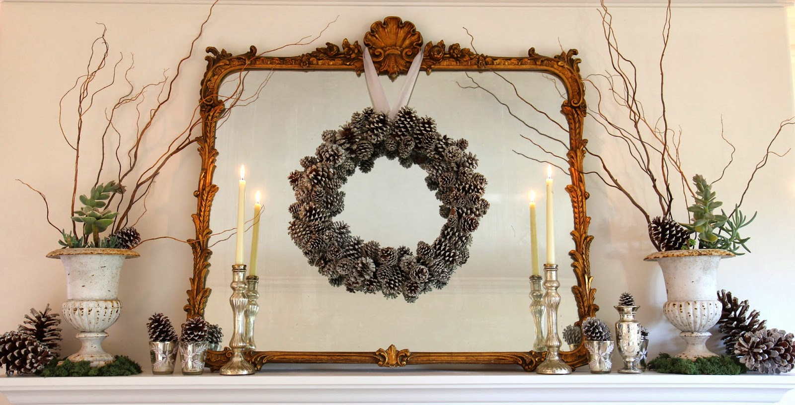 Christmas and Holiday Mantle