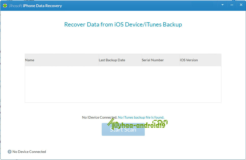 jihosoft iPhone Data Recovery kuyhaa