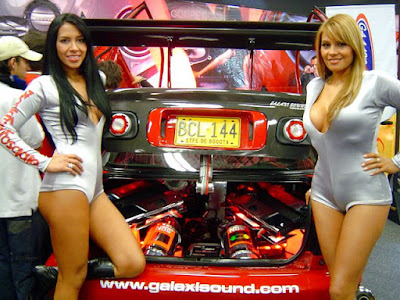 Car Stereo Speaker with ladies