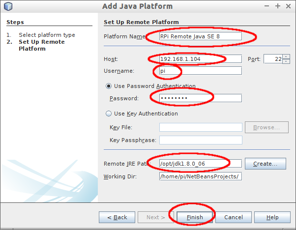 how to create desktop application in java using netbeans 8